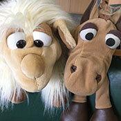 Klassentiere Helge und das Schaf