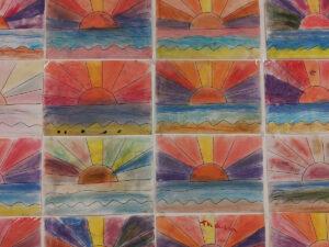Was unsere Kinder mit der Soft-Pastellkreide gemalt haben