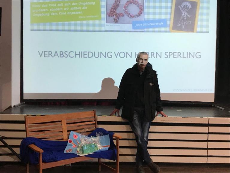 Verabschiedung von Herrn Sperling